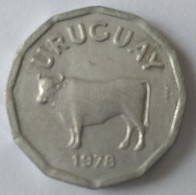 URUGUAY - 5 Centesimos 1978 - Vache - - Uruguay