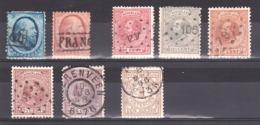 Pays-Bas - Lot De Timbres Anciens Oblitérés - Cote 69 - Sammlungen
