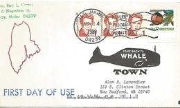 USA EP L. Jay Local Post Come Back To Whale Town 1989 - Baleines