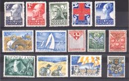 Pays-Bas - 3 Séries Complètes De Timbres Neufs * - Cote 62 - Collections