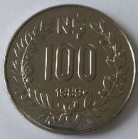 URUGUAY - 100 Pesos 1989 - GAUCHO - - Uruguay