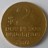 URUGUAY - 2 Pesos 2007 - ARTIGAS - - Uruguay