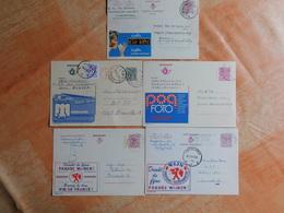 5 Entiers Postaux Publibel (L6) - Postwaardestukken