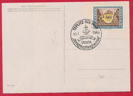 D. Reich Nr. 828 Auf Auf Ersttagskarte - Deutschland