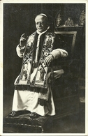 "S.S. Il Pontefice Papa Pio XI, Storia Postale ""Poste Vaticane 50 Cent 1929"" Viagg. Roma - Appiano Gentile - Papi"