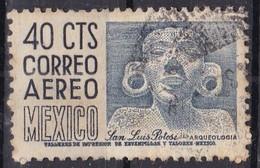 Messico, 1950/52 - 40c San Luis Potosi, Head - Nr.C192 Usato° - Mexique