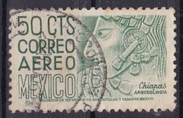 Messico, 1950/52 - 50c Chiapas, Bas-relief Profile - Nr.C193 Usato° - Mexique