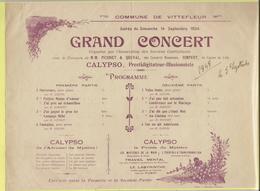 Vittefleur Grand CONCERT - Old Paper