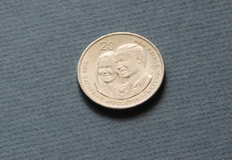 Australia 2011 20c Coin Royal Wedding Prince William Kate Middleton QEII - Decimal Coinage (1966-...)