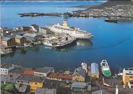 NORWAY---RARE--hammerfest. En Del Av Havneomradet--part Of The Harbour-area--( Bâteaux )--voir 2 Scans - Norwegen