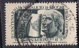 Messico, 1953 - 35c  Hidalgo And Mexican Flag - Nr.C207 Usato° - Mexique