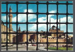 CP N° 524-Egypt, Cairo-The Citadel Seen From Sultan Hassan Mosque - Islam