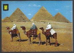 CP N°23-Egypt, GIZA -GUIZEH -Les Pyramides De Kheops,Khephren Et Mycerinos - Antigüedad