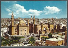 CP N° 630-Egypt, Cairo-Sultan Hassan And El Riffaie Mosque Seen From The Citadel - Islam