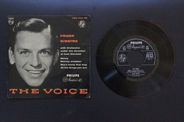 FRANK SINATRA  THE VOICE RARE EP HOLLANDAIS 1956 VALEUR ++ - 45 Rpm - Maxi-Single