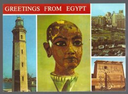 CP Greetings From Egypt, Multivues - Egypte
