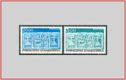 Andorra FR 1984 - Cat. 335/36 (MNH **) Primo Stemma Di Andorra - First Coat Of Arms Of Andorra (000593) - Andorra Francese