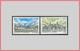 Andorra FR 1986 - Cat. 348/49 (MNH **) Europa CEPT - Europe (000628) - Andorra Francese