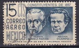 Messico, 1956/63 - 15c Valentin Gomez Farias And Melchor Ocampo - Nr.C236 Usato° - Mexique
