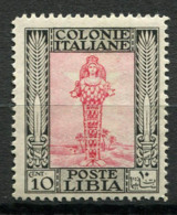 Libye 1924 Sass. 47 Neuf ** 100% 10C, Pictorial - Libye