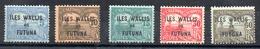 Wallis & Futuna Taxe Y&T T 1* - T 3*, T 5*, T 7* - Wallis Und Futuna