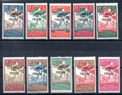 Wallis & Futuna Taxe Y&T T 11* - T 23* - Wallis Und Futuna
