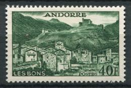 Andorre Français 1955 Mi. 155 Neuf ** 80% 40 F, Paysages, Monuments - Andorre Français