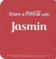 1 Coca Cola     Viltje  - Coaster  -   Jasmin -Sarah - Sous-bocks