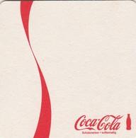 1 Coca Cola     Viltje  - Coaster  - - Sous-bocks