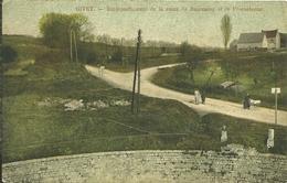 08 Ardennes GIVET Embranchement De La Route De BAUREAING Et De FROMELENNE - Givet