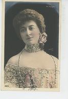 FEMMES - FRAU - LADY - SPECTACLE - ARTISTES 1900 - Portrait Avec Paillettes Artiste SOREL (Théâtre FRANÇAIS ) - Femmes