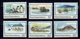 Terre De Ross ** N° 15 à 20 - Ouverture De La Base Scott - Neufs