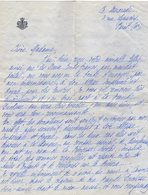 VP13.669 - PARIS 1938 - Noblesse - Lettre De Mme De KOMSTADIUS Secrétaire De Son Altesse Royale La Princesse N.de GRECE - Autographes