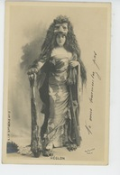 FEMMES - FRAU - LADY - SPECTACLE - ARTISTES 1900 - Portrait Artiste HEGLON - Femmes