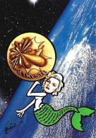 CPM Sous Marin Améthyste Satirique Caricature Jihel Tirage Signé 30 Ex. Numérotés Signés Sirène - Submarines