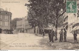 Privas : Un Coin Des Boulevards - Place Victor Hugo - Privas