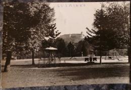 SLOVENIE.LJUBLJANA.LE CHATEAU.JARDIN D'ENFANTS.PHOTO VERITABLE.1958.TBE. - Slovénie