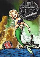 CPM Sous Marin Le Triomphant Satirique Caricature Jihel Tirage Signé 30 Ex. Numérotés Signés Sirène - Submarines