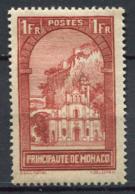 Monaco 1933 Mi. 127 Neuf * 100% Construction, 1 Fr - Monaco