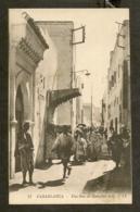 CP-CASABLANCA - Une Rue Du Quartier Juif - Casablanca