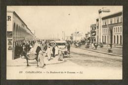 CP-CASABLANCA - Le Boulevard Du 4éme Zouaves - Casablanca