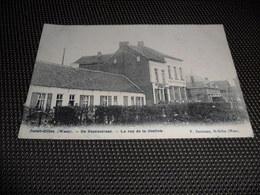 Saint - Gilles - Waes  Sint - Gillis - Waas ( Termonde Dendermonde ) De Statiestraat  Rue De La Station - Beveren-Waas