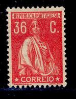 ! ! Portugal - 1920 Ceres 36 C - Af. 243 - MH - 1910-... Republik