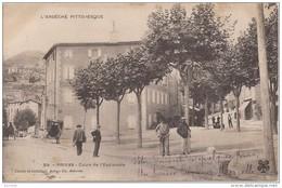 Privas : Avenue De Chomérac - Cours De L'Esplanade - Privas
