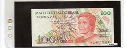 Banconota Brasile 100 Cruzeiros - Brésil
