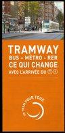 Métro De Paris - RATP - Tramway T3 - Photos Des Stations Du Tramway - 8 Pages - Titres De Transport