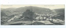 La Roche En Ardenne Panorama Général ( Carte Double ) - La-Roche-en-Ardenne
