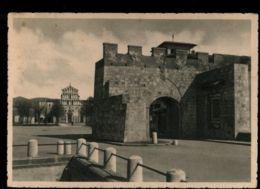 B9716 PISA - PORTA A MARE E CHIESA SAN PAOLO A RIPA D'ARNO B\N VG 1941 - Pisa