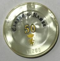 Casino De Namur. Jeton 50 Francs. - Casino