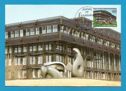 Luxemburg  1987 Mi.Nr. 1175 ,  Europa CEPT Moderne Architektur - Maximum Card - S Stempel Your Emission 4-5-1987 - Europa-CEPT